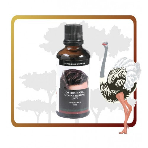 Ostrich Oil For Hair 50ml - Moncah Best