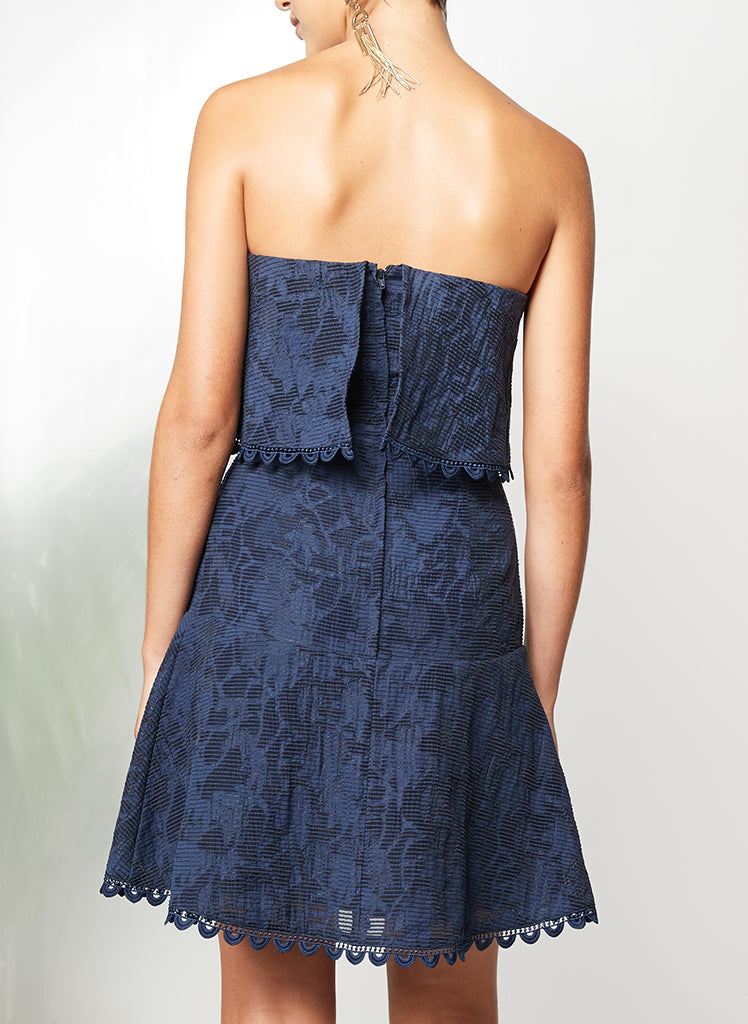IN MOTION STRAPLESS DRESS - PS The Label