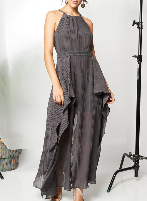 ON YOU SIDE MAXI DRESS - PS The Label