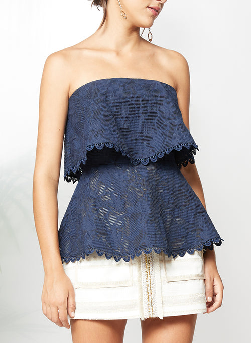 IN MOTION STRAPLESS TOP - PS The Label