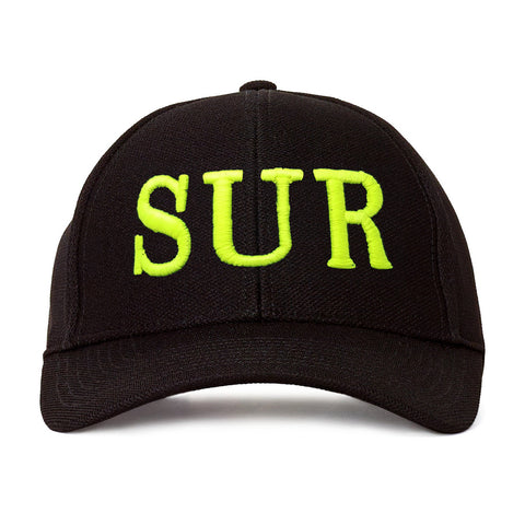 SUR Lime/Black Black Hat