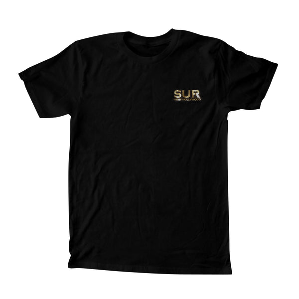 SUR T-Shirt Gold Foiled