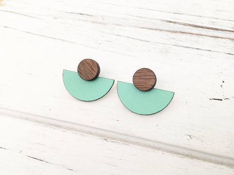 3 Styles in 1 Earrings - Mint