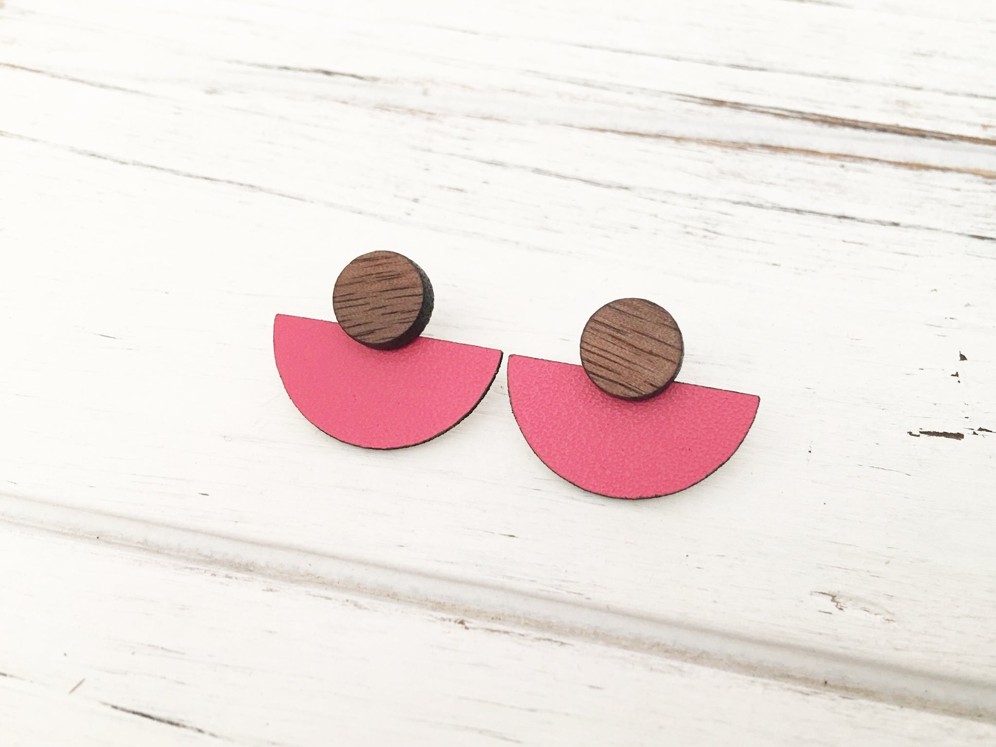 3 Styles in 1 Earrings - Watermelon