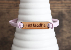 Just Breathe Cuff Bracelet
