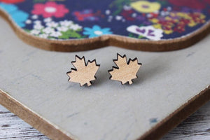 Maple Leaf Earrings Earrings