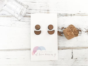 Wooden Earring Jackets