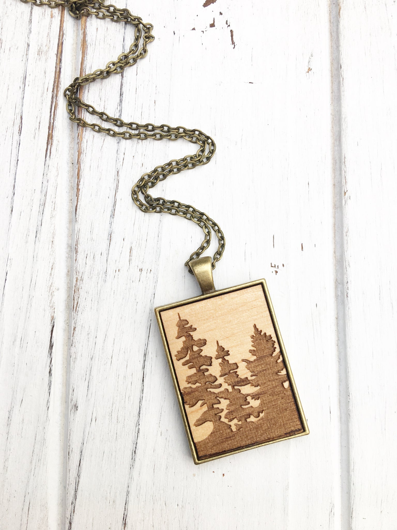 Into the Forest Necklace