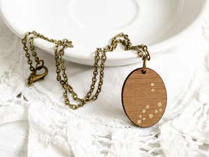 Zodiac Constellation Necklace - Capricorn