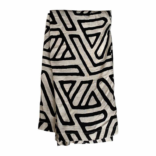 abstract throw natural/black