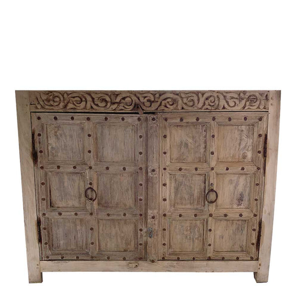 antique door cabinet