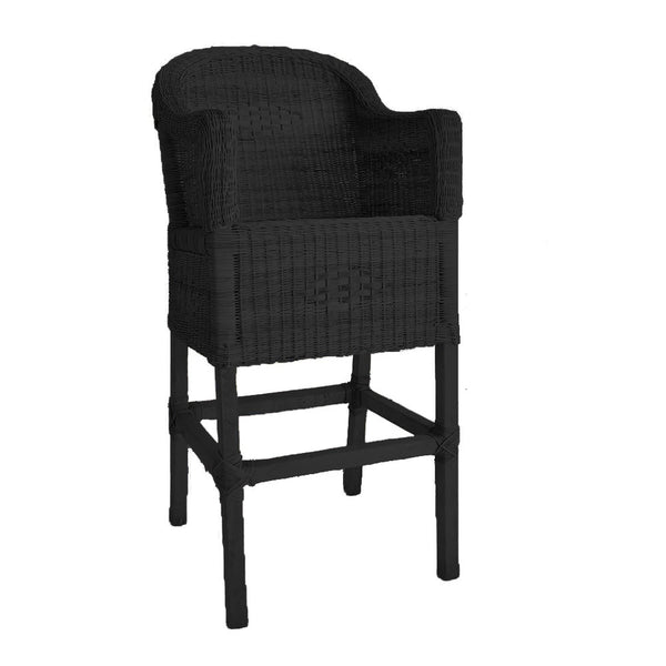 malawi bar stool black