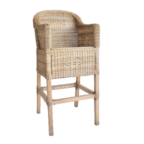 malawi bar stool natural