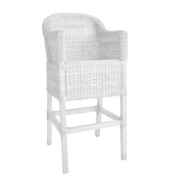malawi bar stool white
