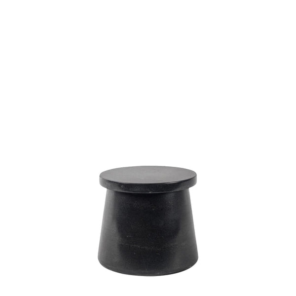 black marble tapered  jar