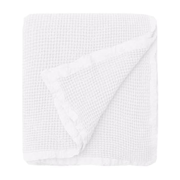 hepburn blanket white large