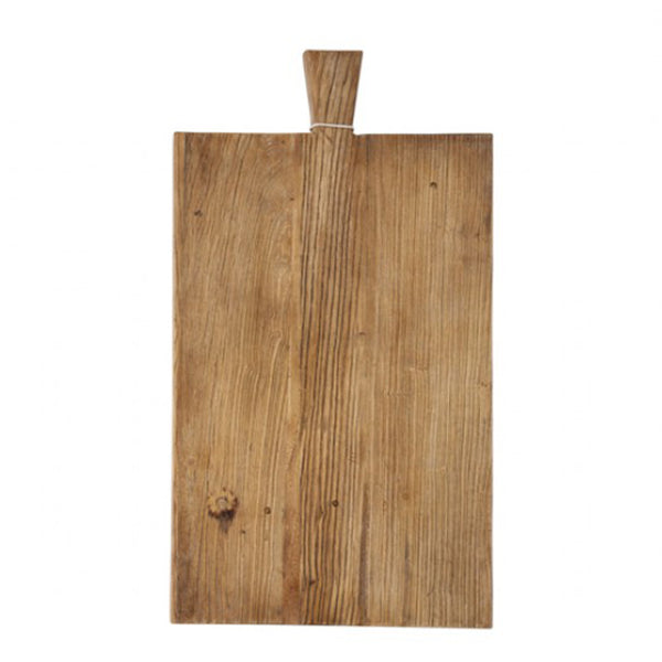 elm board with handle large