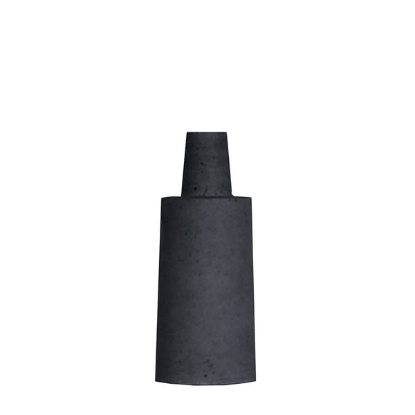 esher angle bottle small - black