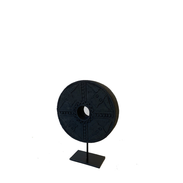 cerchio sculpture black