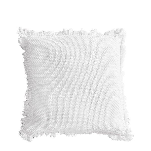 chelsea cushion small white