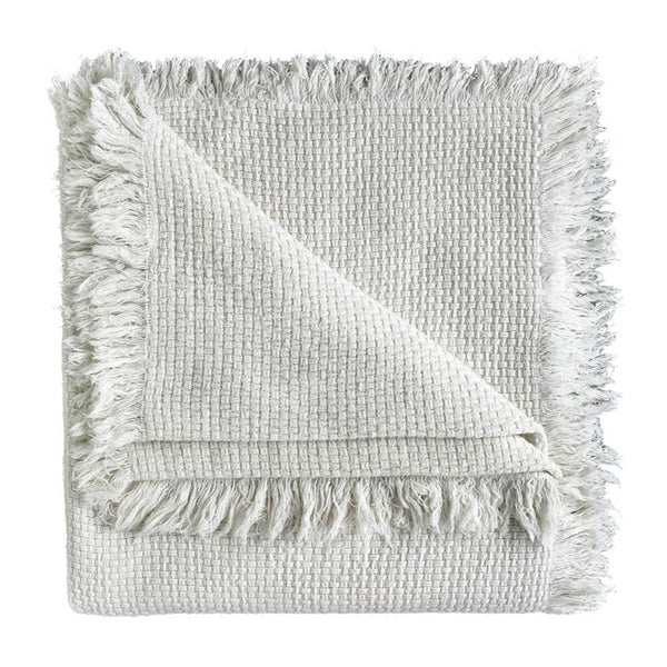 chelsea throw - white