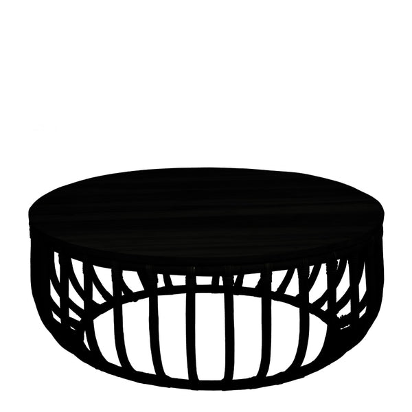aikko coffee table - black