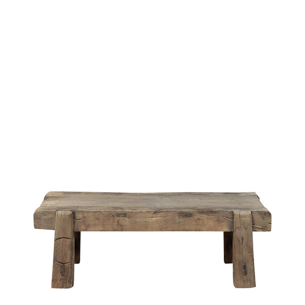 reclaimed timber coffee table/bench seat