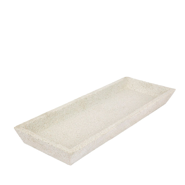 concrete tray rectangle sand
