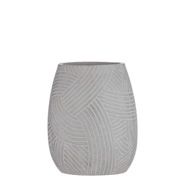curved lines vessel short grey