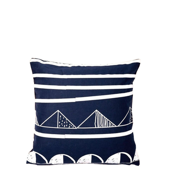 friday cushion navy
