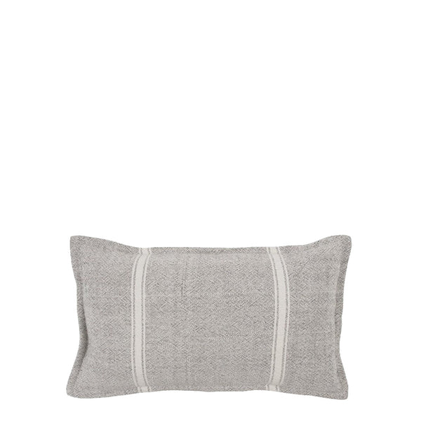 lil sergeant cushion grey + natural