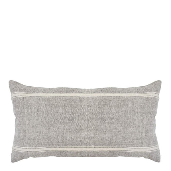 sergeant cushion grey + natural
