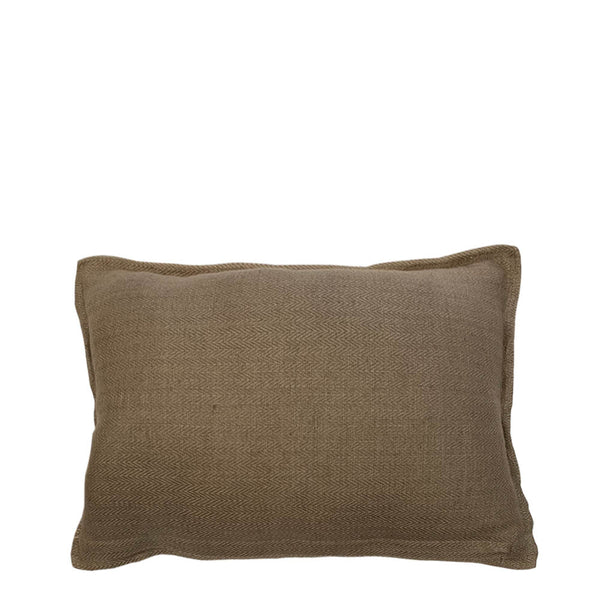 sabi tweed lumbar cushion