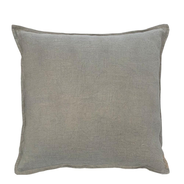 sabi washed denim cushion