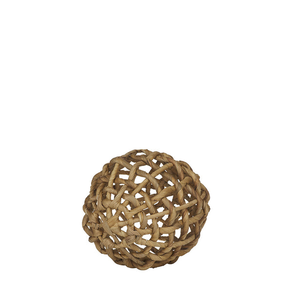rattan deco ball large