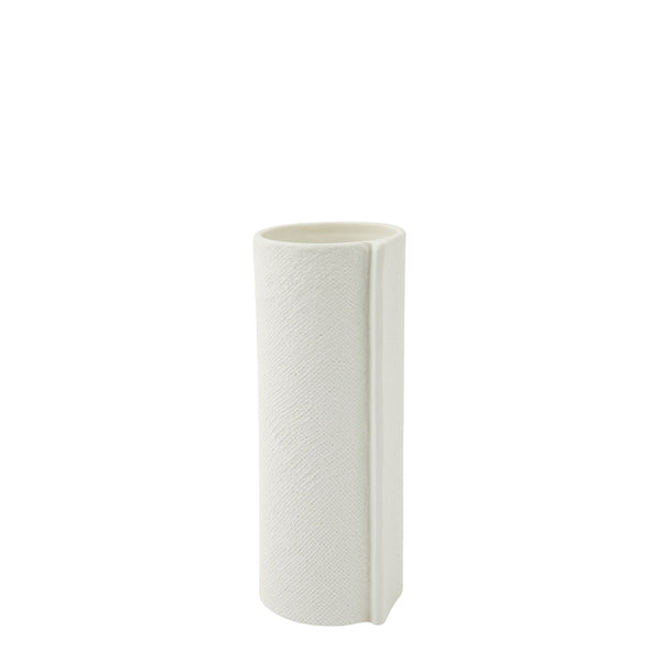 wrap vase small white
