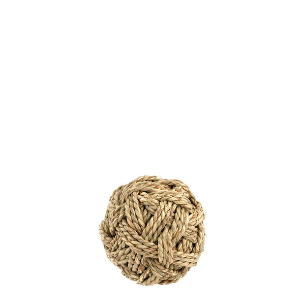woven deco ball small