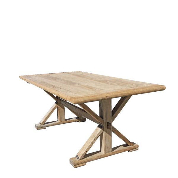 recycled elm dining table - PREORDER