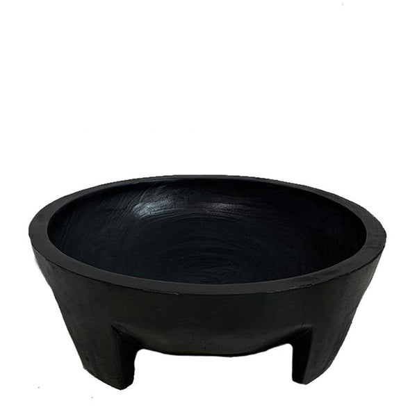 suar footed bowl large