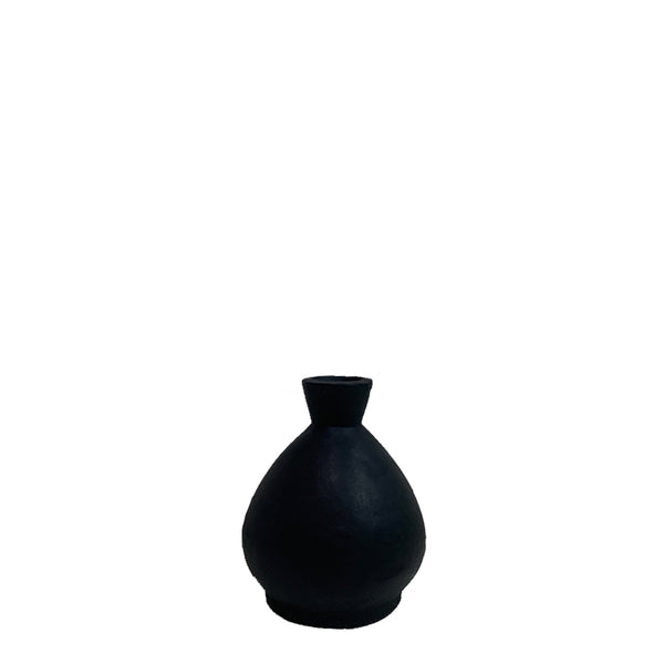 forme vase small black  - ARR OCT