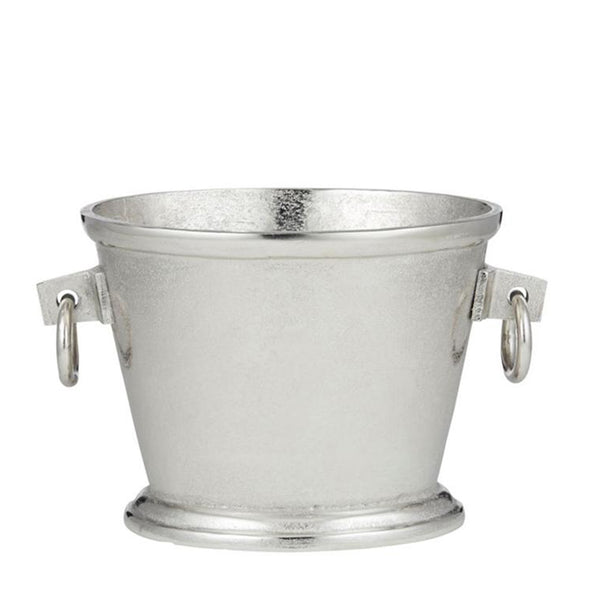 silver oval ice bucket