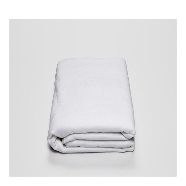 linen duvet cover king white