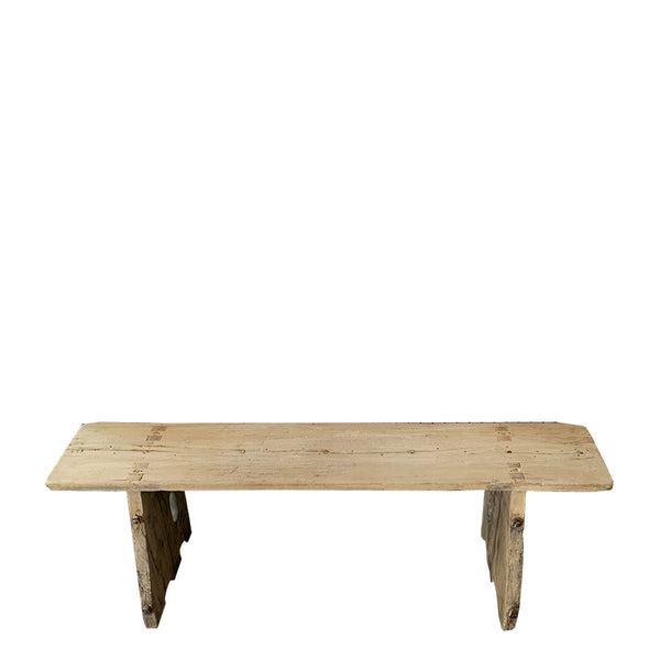 indian rustic bench seat