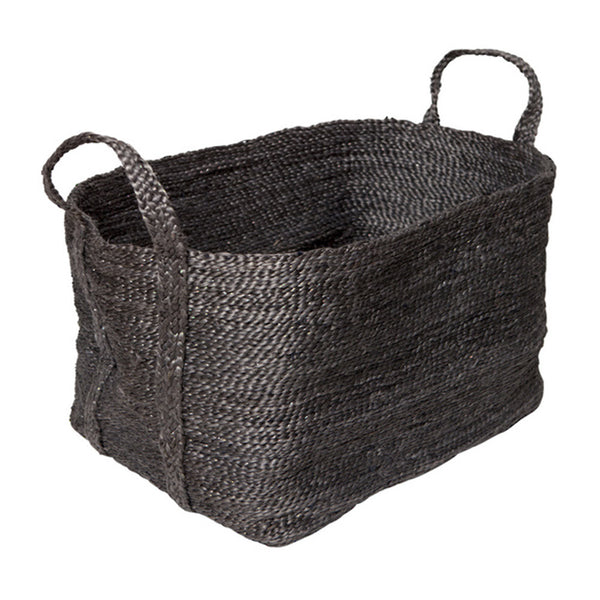 jute basket charcoal extra large