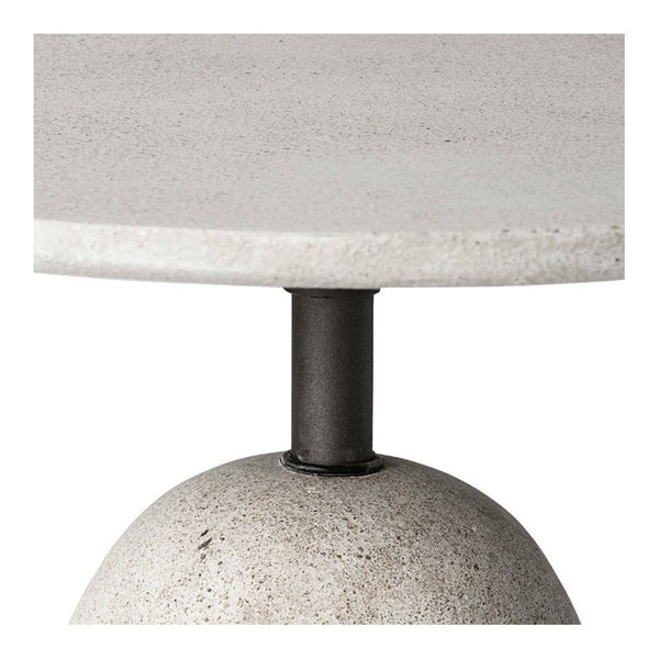 kellan side table - grey