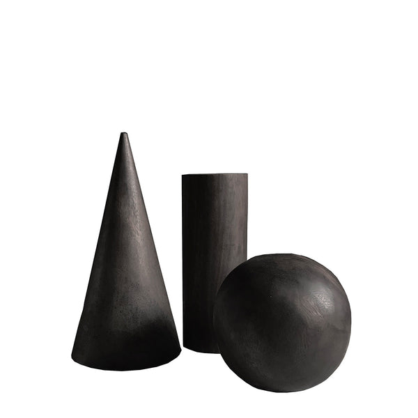 koh sculpture set of 3