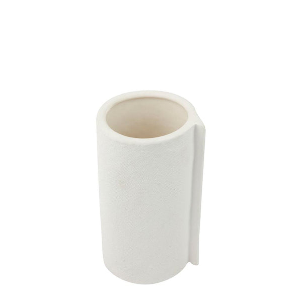 wrap vase large white