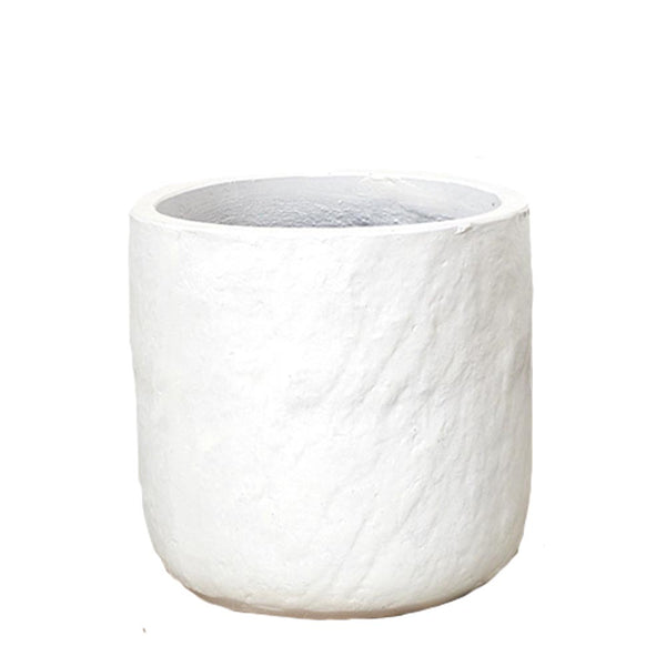 lotte textured pot white large