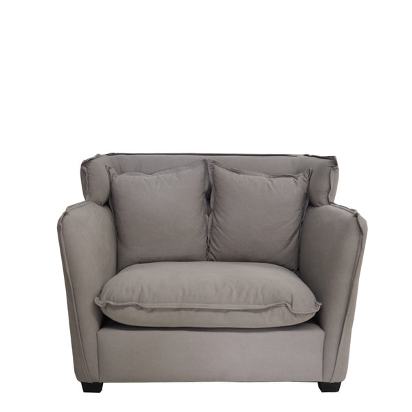 sunday loveseat grey