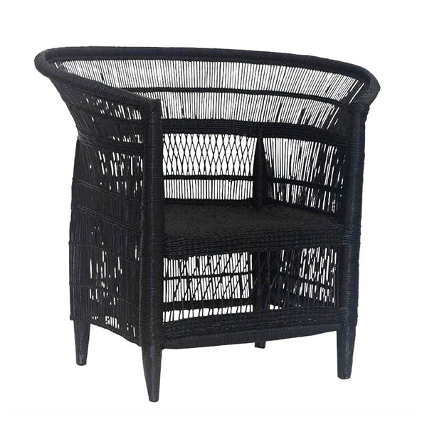 malawi chair - black